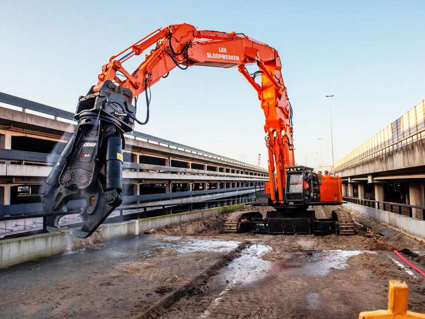 pinze demolizione cemento armato