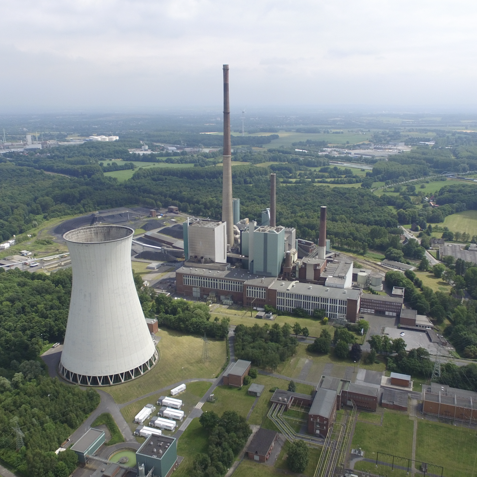 Centrale elettrica Lünen demolizione